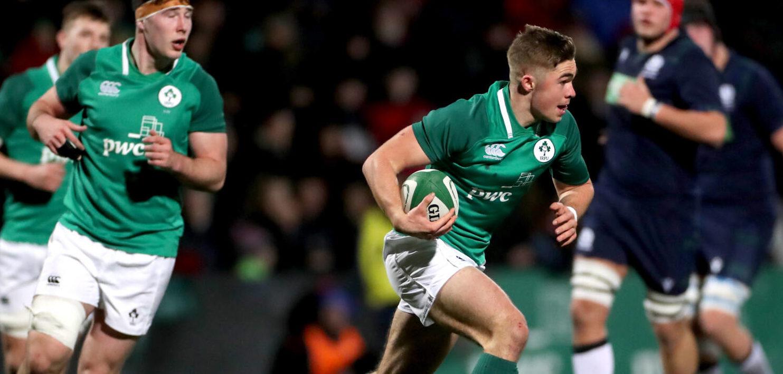 U20 Six Nations: Ireland 38 Scotland 26