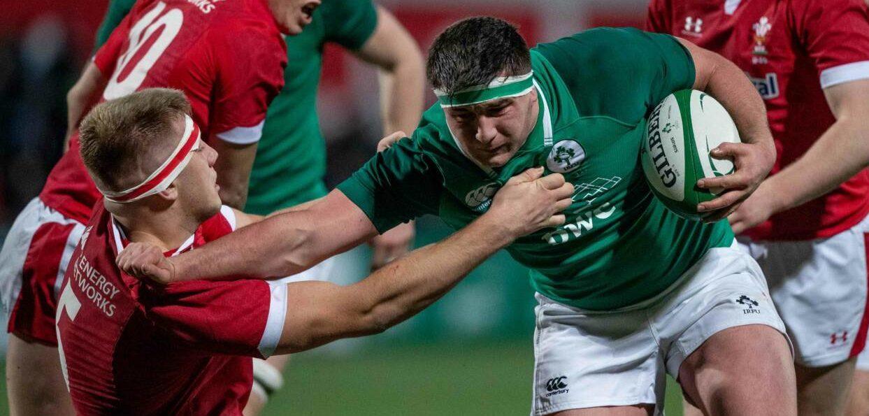 U20 Six Nations. Ireland 36 Wales 22