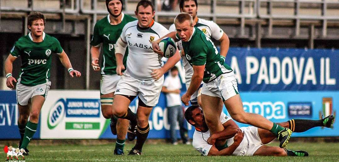 JWC 201: Ireland 15 South Africa 57.