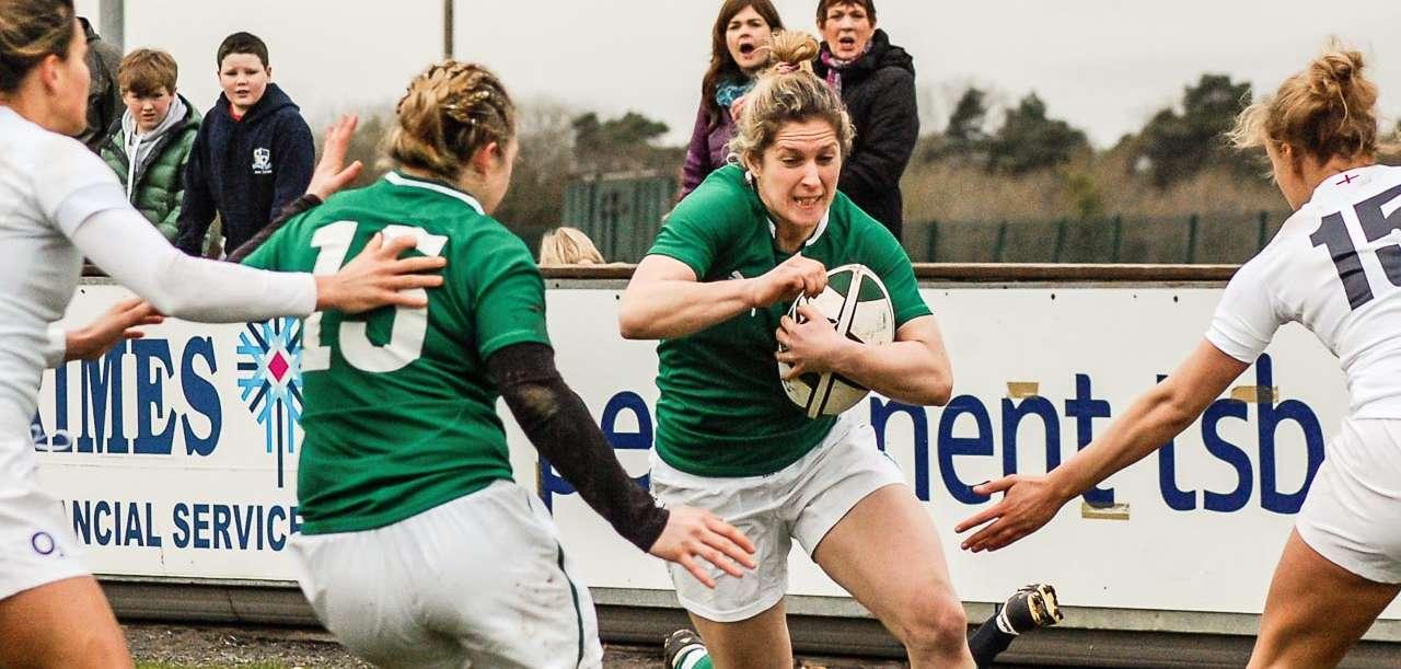 Women: Ireland 25 England 0