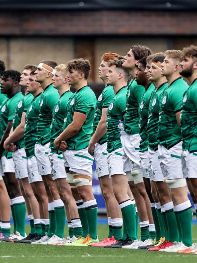 Ireland U20. Ulster Contributions 2021 Six Nations