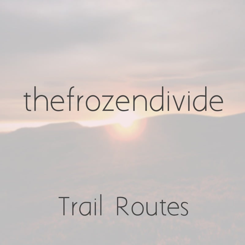 My Trail Routes | Snowdonia & Lake District | thefrozendivide