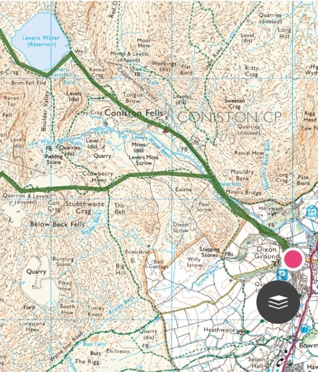 Old Man of Coniston 2 | Trail Route | thefrozendivide