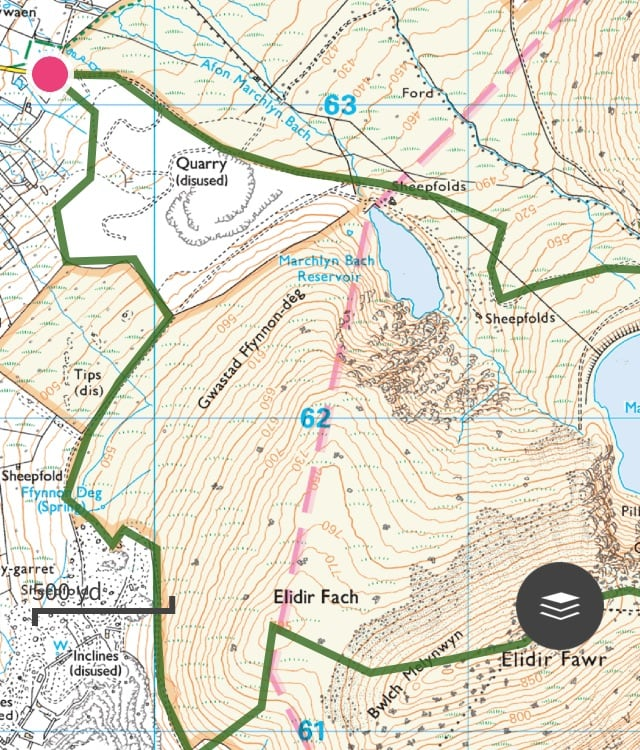 Marchlyn Mawr Trail Route 03 | Snowdonia | thefrozendivide