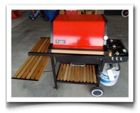 restored weber genesis grill