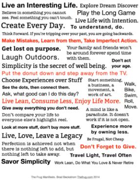 TheFrug Manifesto