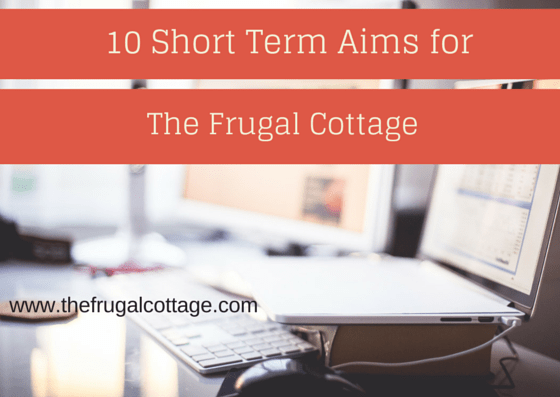 10 Short Term Aims for The Frugal
