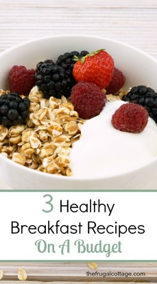 Healthy Breakfast Budget