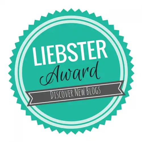 2018 Liebster Award Nomination