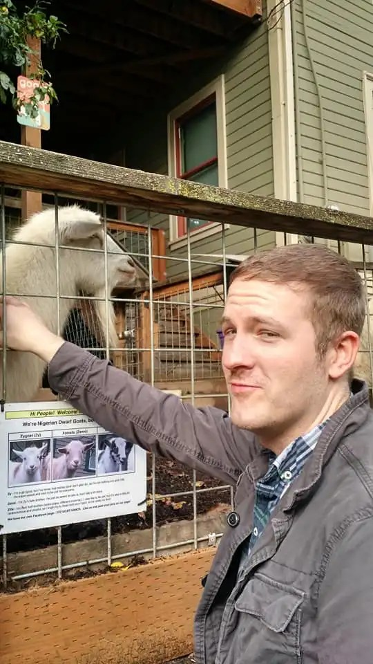 Me and a Goat