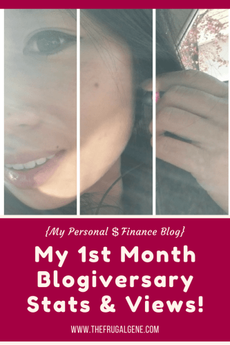 First Month Blogiversary Stats {Shout Outs, Mistakes...& Why I Blog}