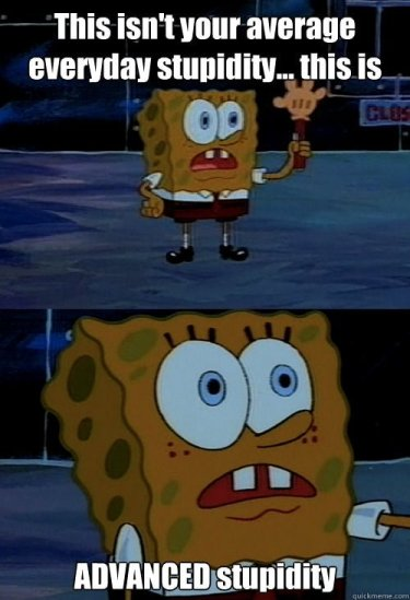 spongebob-stupidity