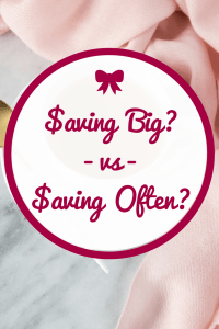 The Latte Factor - Reducing Big Expenses vs Small Expenses