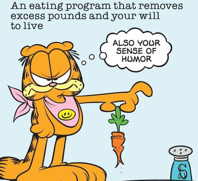 Betraying Garfield – I'm Taking The SNAP Challenge On A Diet