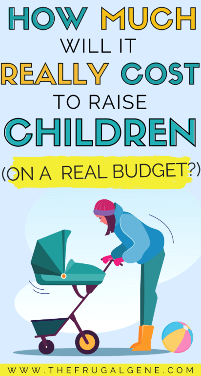 Just how much does it cost to have a kid in the United States? Using conservative, frugal budget we wanted to see if #children are really *that* expensive. It's said to cost over $250,000 from birth to 18. No college! What is the REAL cost of raising a kid done realistically (public school, free childcare, frugal living etc?) How do POOR people with REAL thin, tight budgets pay for the cost of kids?- Family financial planning, save money, on a budget, money tips, personal finance, having a #baby