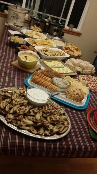 holiday-buffet