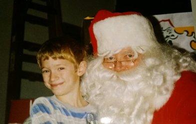 little-boy-with-santa