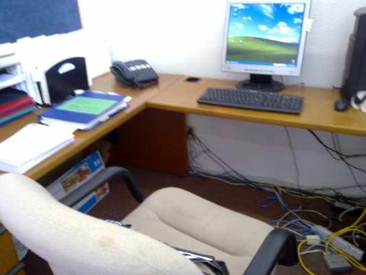 first desk job