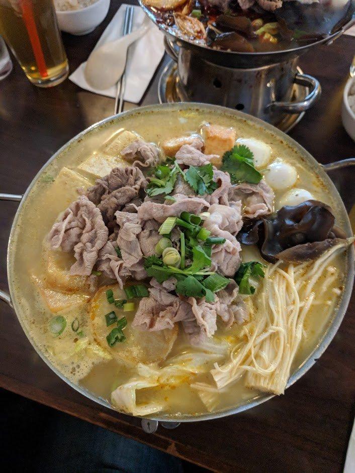 mini hot pot food