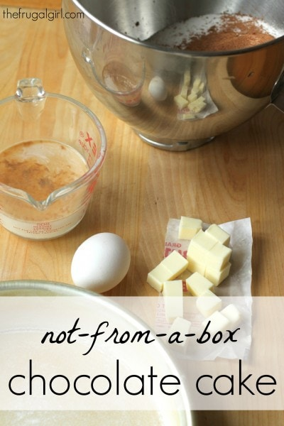 Easy Basic Cake Recipes Scratch
