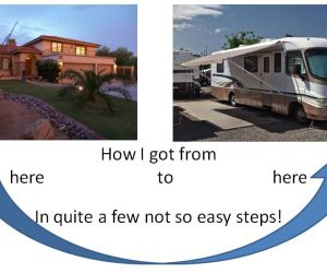 How I downsized from a 4 bedroom 3 bathroom house into an RV!