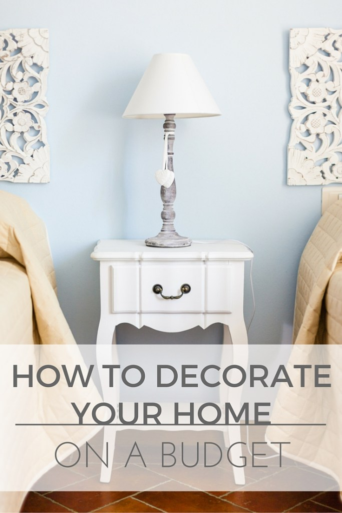 How to decorate your home on a budget. Here, I'm revealing all my tips and tricks for decorating a home on a budget!