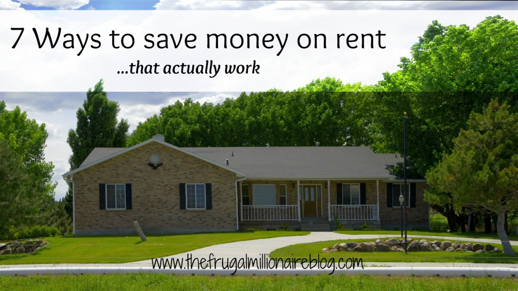 save on rent