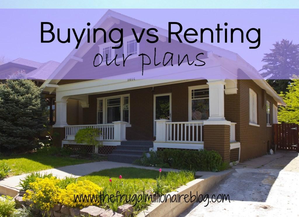 buying versus renting