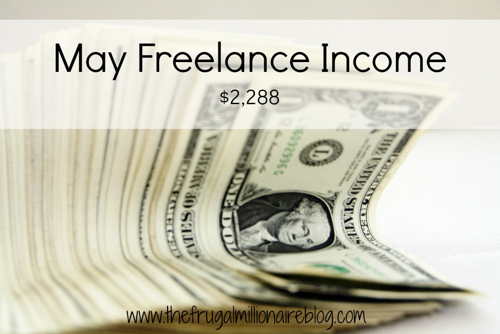 May freelance income