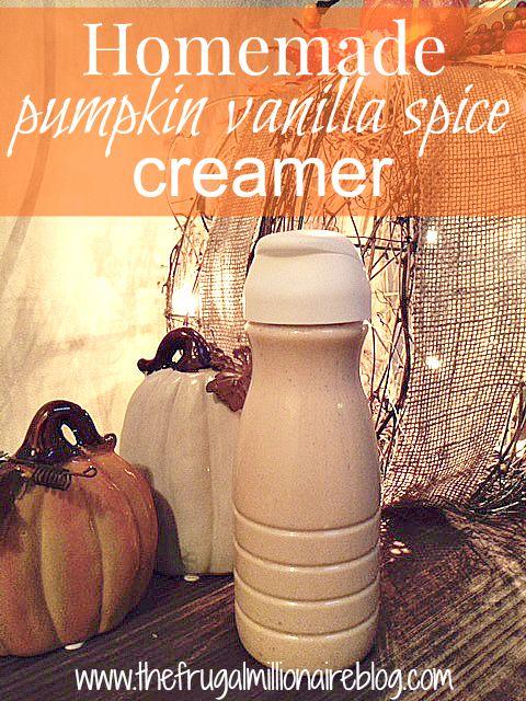 pumpkin creamer