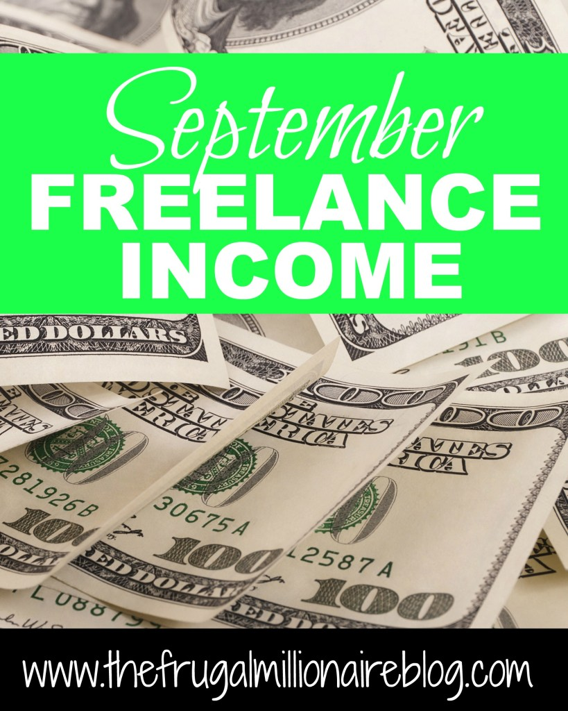 September freelance income
