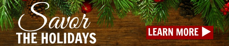 savor the holidays