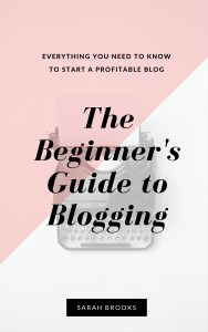The Beginners Guide to Blogging