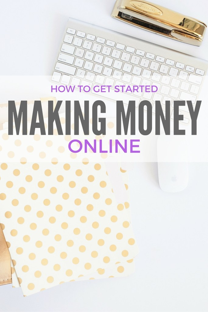 How to make money online. Are you ready to start making an income online from home? I've been freelancing and blogging for four years and am showing you exactly how you can start making money online and from home, too. Follow these steps, and you'll be making money in no time!