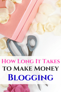 How long it takes to make money blogging, plus how you can make a part-time income from your blog!