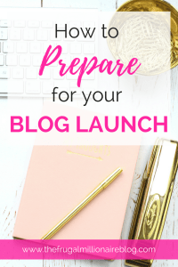 How to prepare for your blog launch. Ready to start blogging and make money? Here's how to get started and prepare your blog for launch!