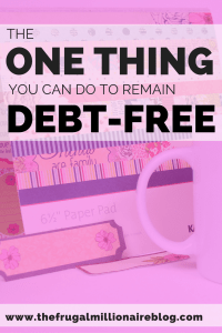 How to pay off debt. We paid off $30,000+ of debt in two years and with this one trick, you can pay off and remain debt-free, too!