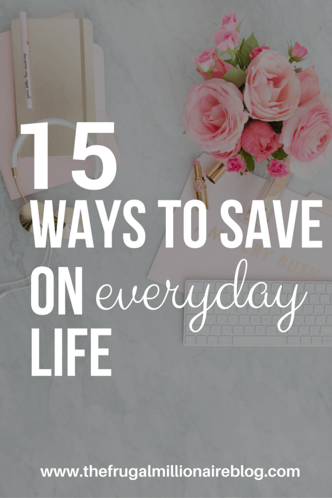 How to save money on everyday life. Ideas include saving on food, transportation, entertainment and more!