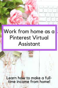 Become a Pinterest VA Today! Here's how you can start your own Pinterest business and work from home as a Pinterest virtual assistant.
