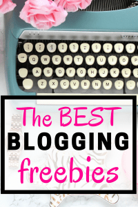 The VERY best blogging freebies! Learn how to start a blog, grow your blog, make money blogging, the 10 things you need to do to increase your earnings, and more! If you want to be a full-time blogger, these freebies are a must!!