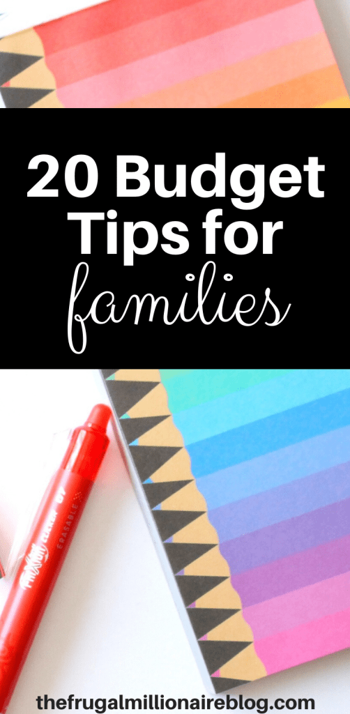 Budget Tips for Families