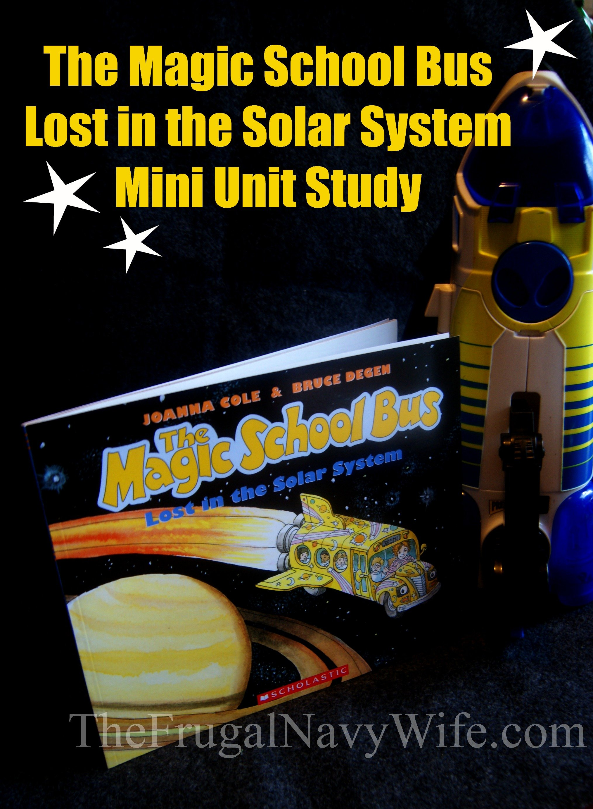 The Magic School Bus Lost In The Solar System Unit Study