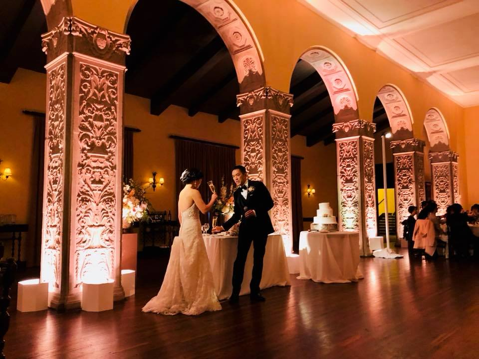 Wedding at the Ebell of Los Angeles