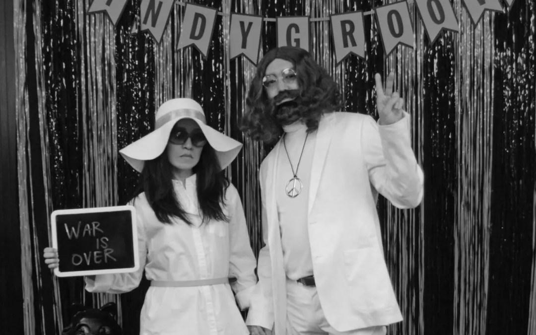 Our John Lennon and Yoko Ono Halloween Costume