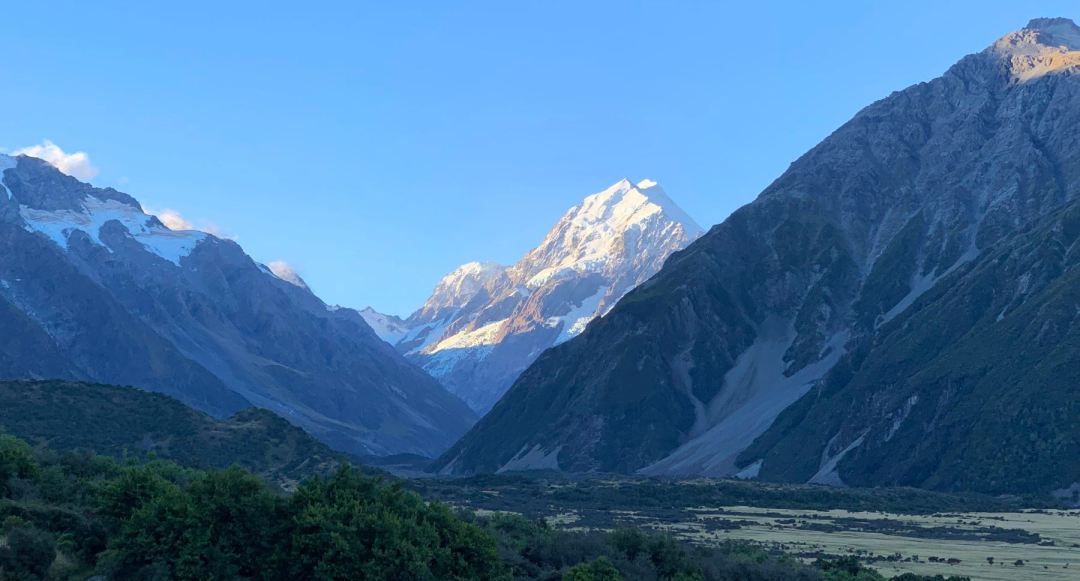Aoraki / Mt. Cook, from the Aoraki Alpine Lodge