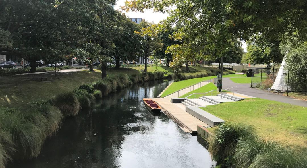 Avon River in Christchurch, NZ
