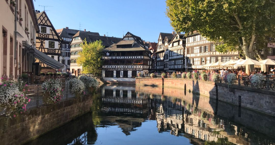 Canal in Strasbourg