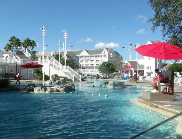 Stormalong Bay Pool at Walt Disney World