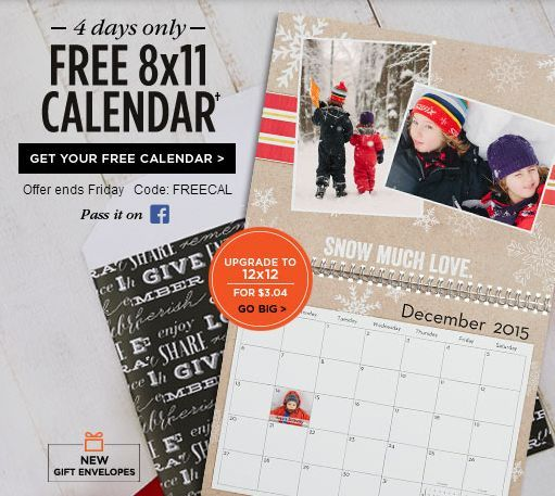 free photo calendar at shutterfly just pay 5 99 shipping the