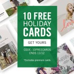 Updated: 10 Free Cards at Tiny Prints – Only Pay $0.75 Shipping!